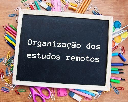 Organização dos Estudos Remotos - 6o. Ano / EFII