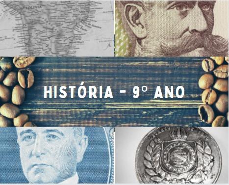 História - 9o. ano do EFII / 2021